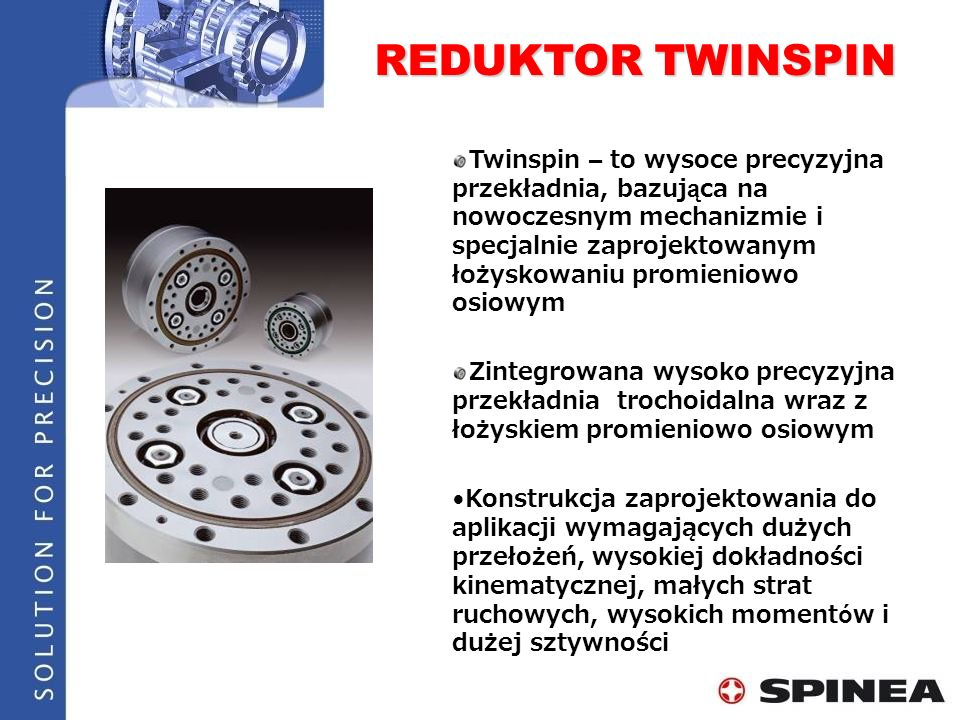 REDUKTOR TWINSPIN