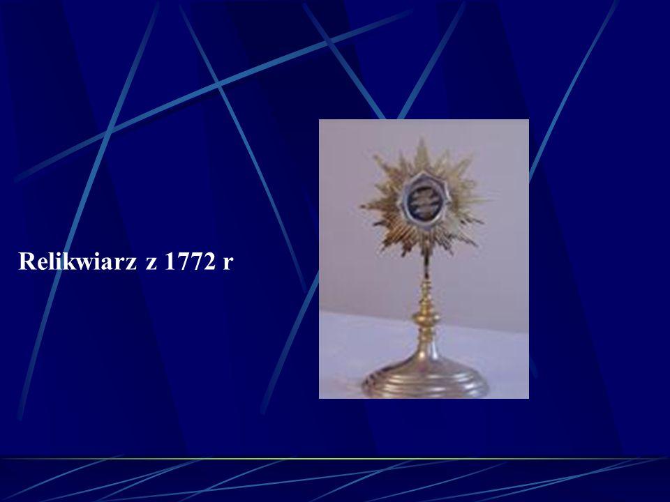 Relikwiarz z 1772 r