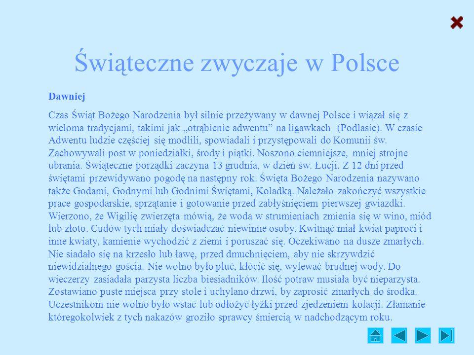 Świąteczne zwyczaje w Polsce