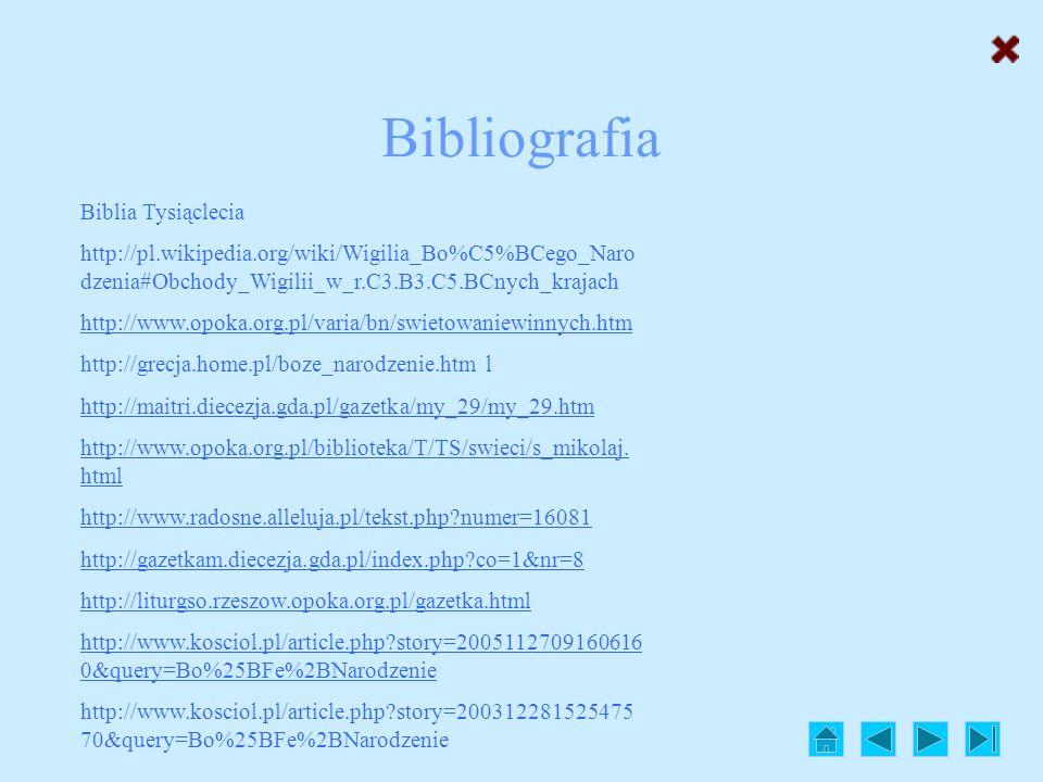 Bibliografia Biblia Tysiąclecia