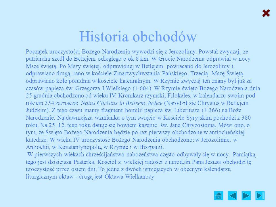 Historia obchodów