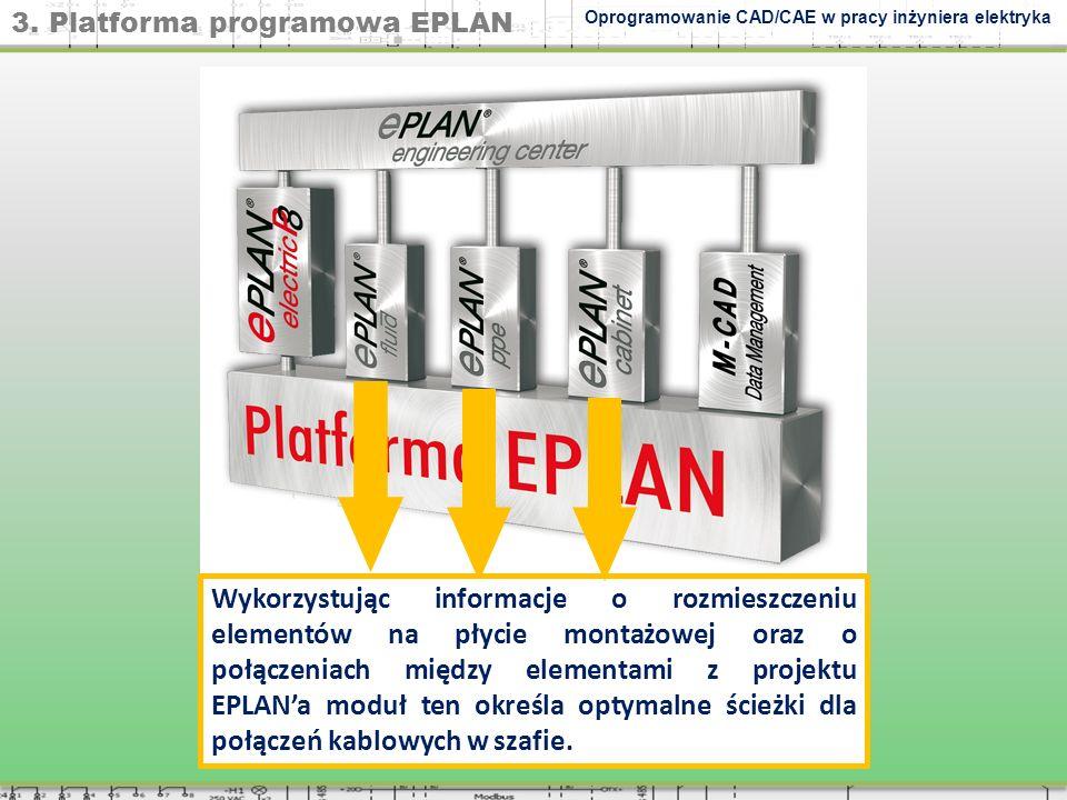 3. Platforma programowa EPLAN