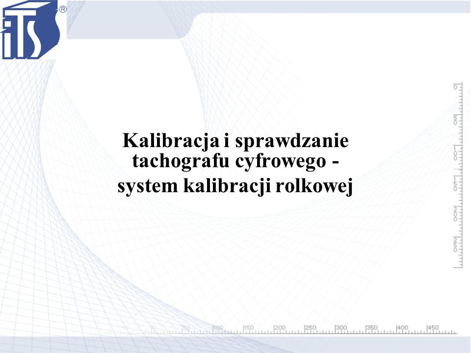 Kalibracja i sprawdzanie tachografu cyfrowego -