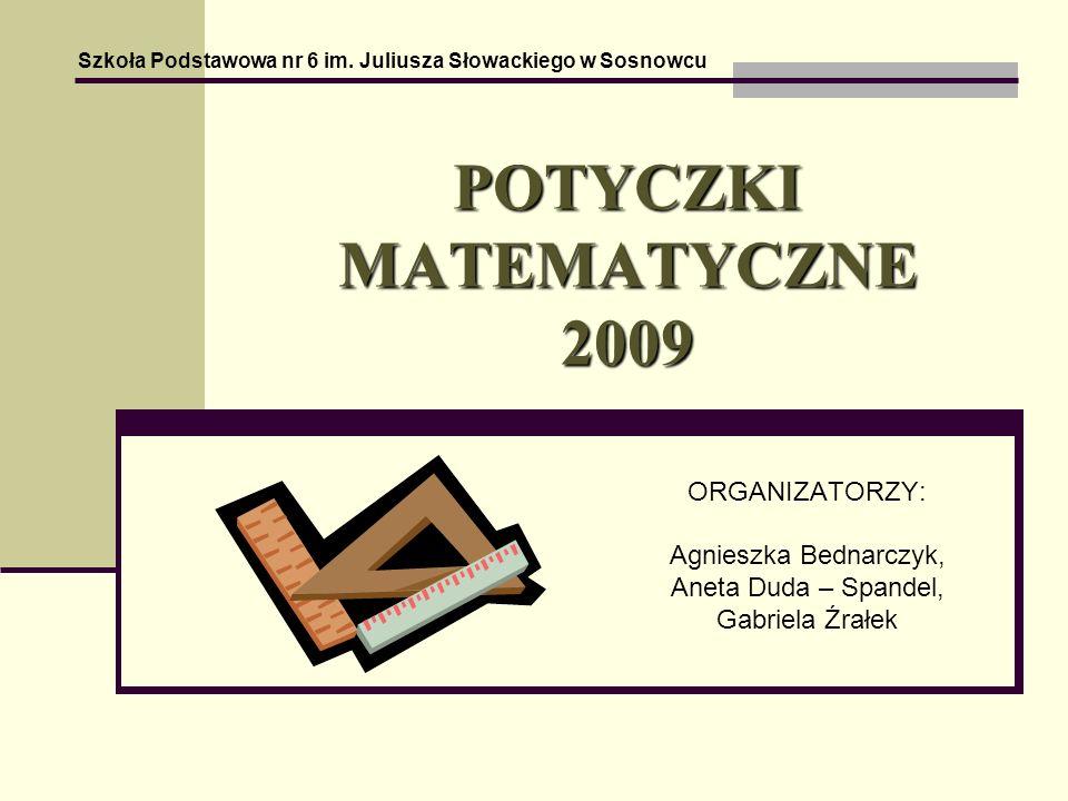 POTYCZKI MATEMATYCZNE 2009