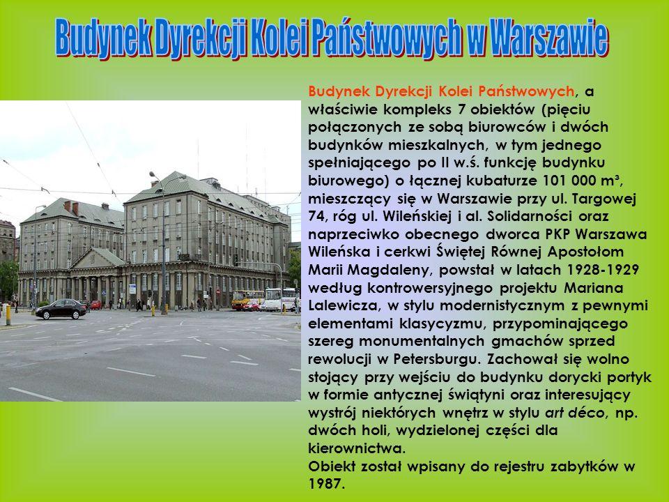Budynek Dyrekcji Kolei Państwowych w Warszawie