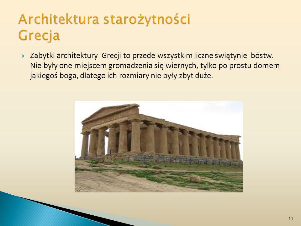 Architektura starożytności Grecja