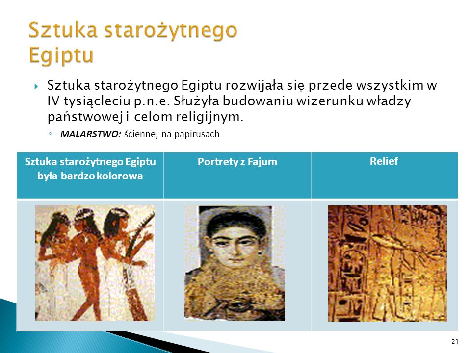 Sztuka starożytnego Egiptu