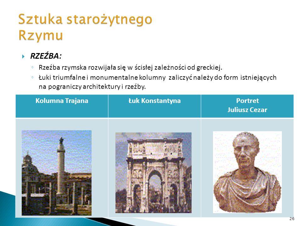 Sztuka starożytnego Rzymu