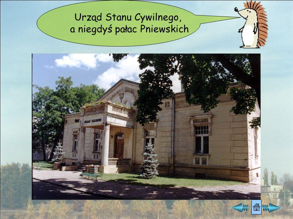 a niegdyś pałac Pniewskich