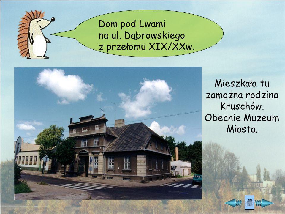 Mieszkała tu zamożna rodzina Kruschów.