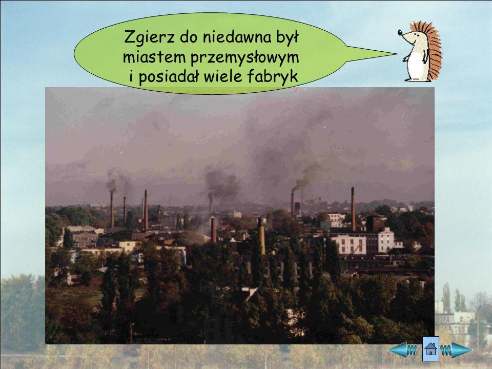 Zgierz do niedawna był miastem przemysłowym i posiadał wiele fabryk