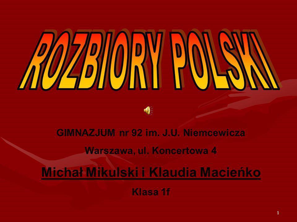 Michał Mikulski i Klaudia Macieńko