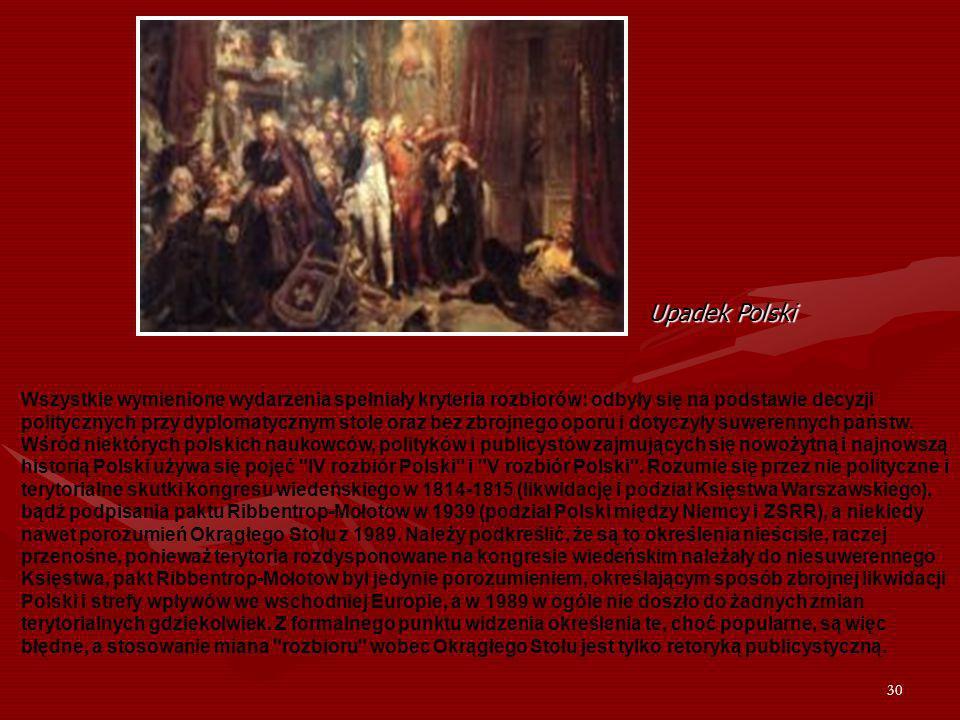 Upadek Polski