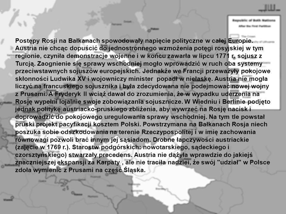Postępy Rosji na Bałkanach spowodowały napięcie polityczne w całej Europie.
