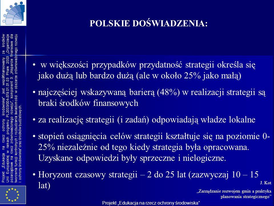 POLSKIE DOŚWIADZENIA: