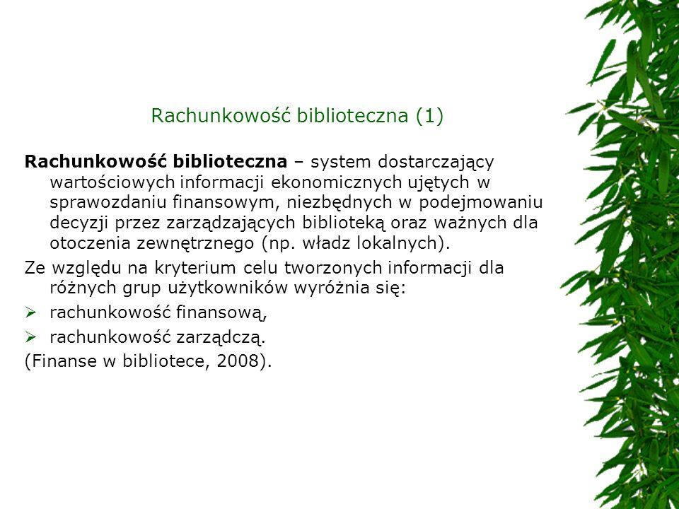 Rachunkowość biblioteczna (1)