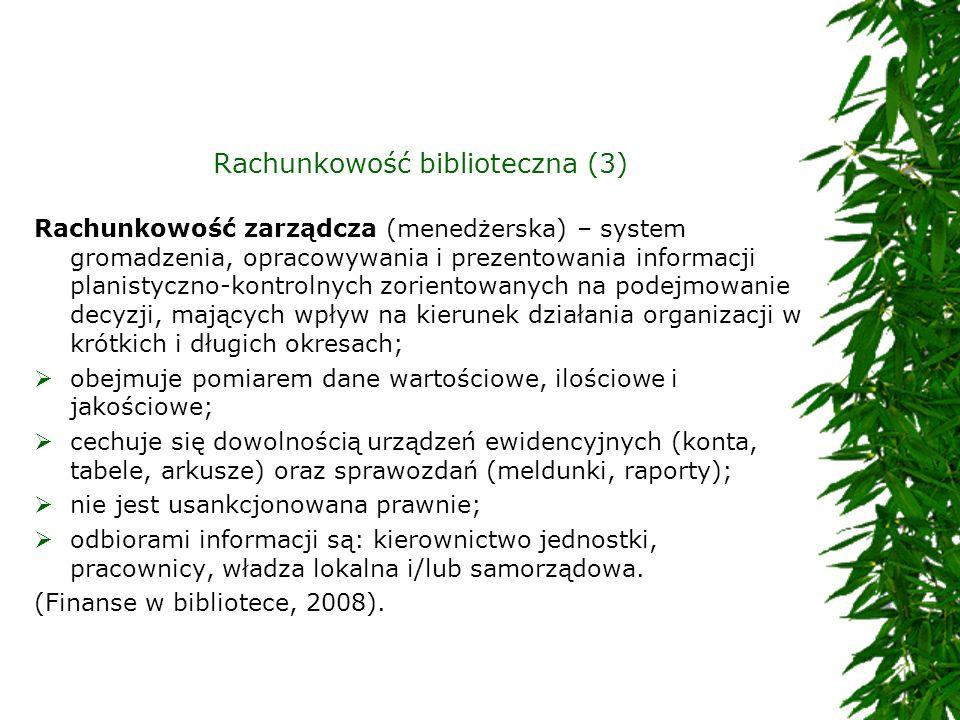 Rachunkowość biblioteczna (3)