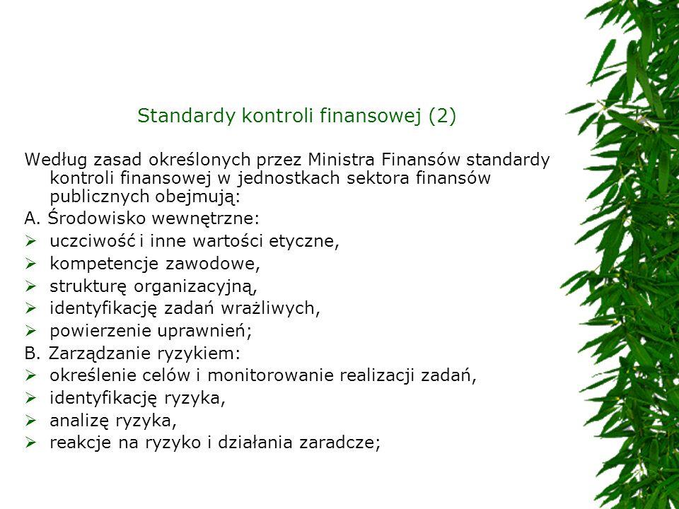 Standardy kontroli finansowej (2)