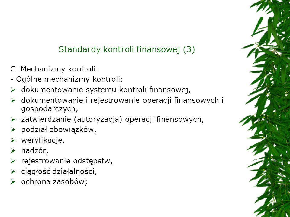 Standardy kontroli finansowej (3)