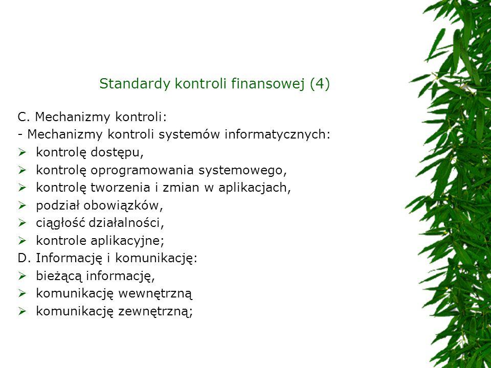 Standardy kontroli finansowej (4)