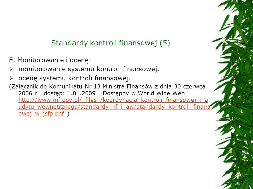 Standardy kontroli finansowej (5)