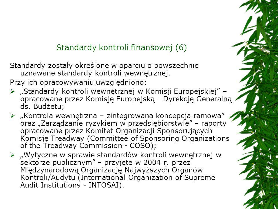 Standardy kontroli finansowej (6)