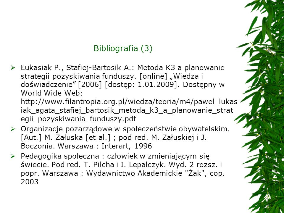 Bibliografia (3)