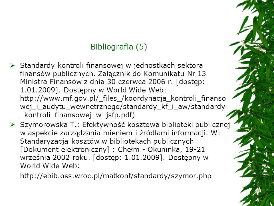 Bibliografia (5)