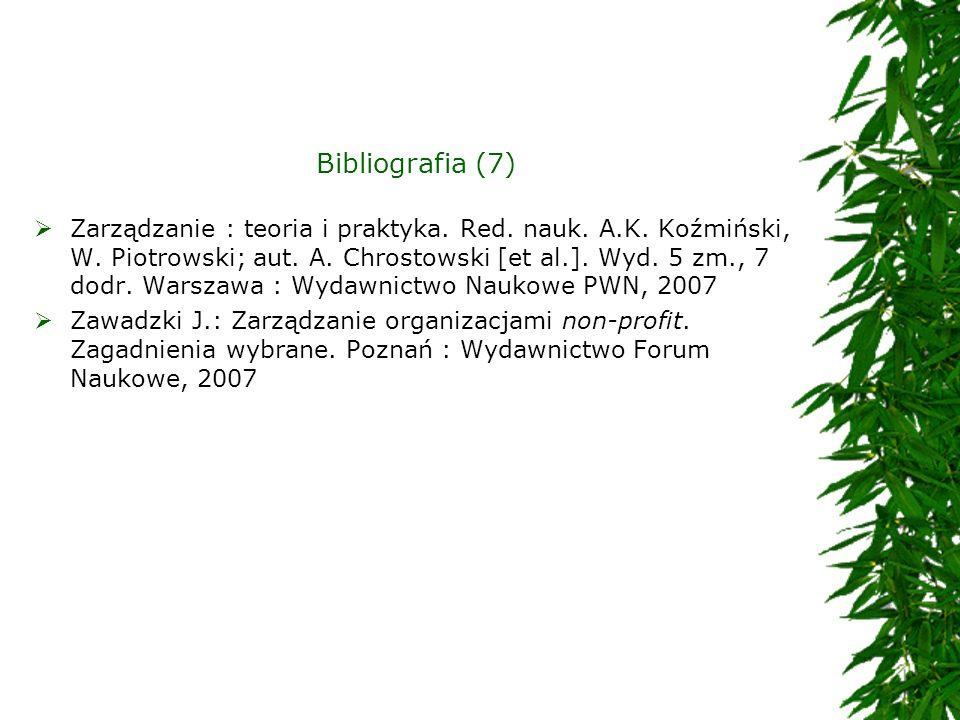 Bibliografia (7)