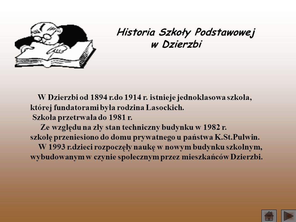 Historia Szkoły Podstawowej w Dzierzbi