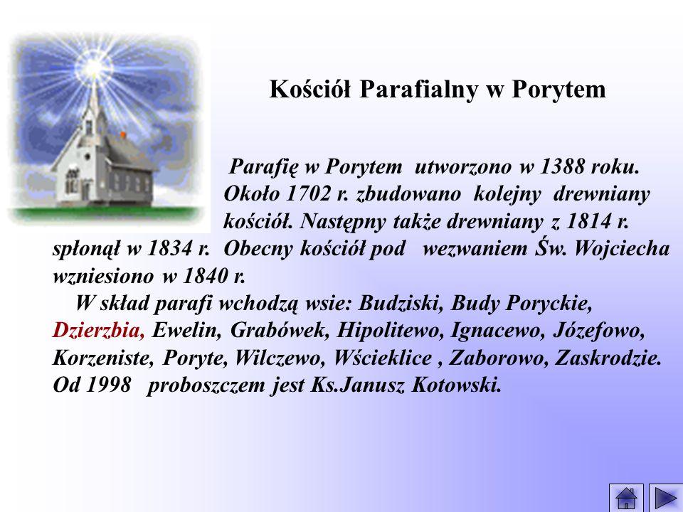 Kościół Parafialny w Porytem