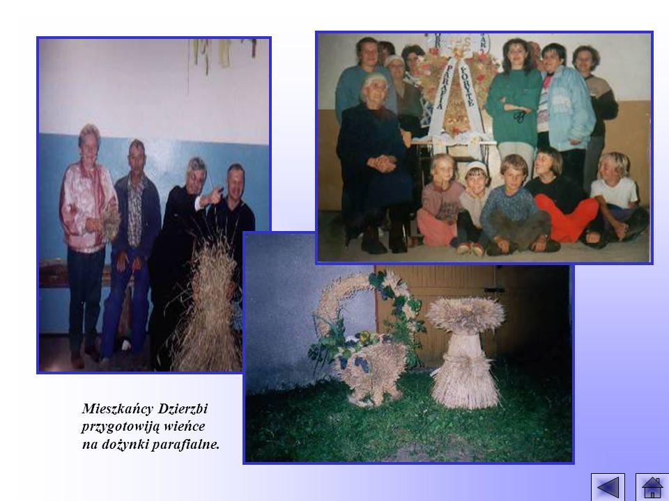Mieszkańcy Dzierzbi przygotowiją wieńce