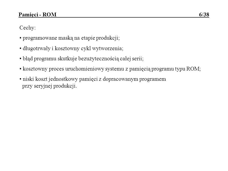 Pamięci - ROM 6/38