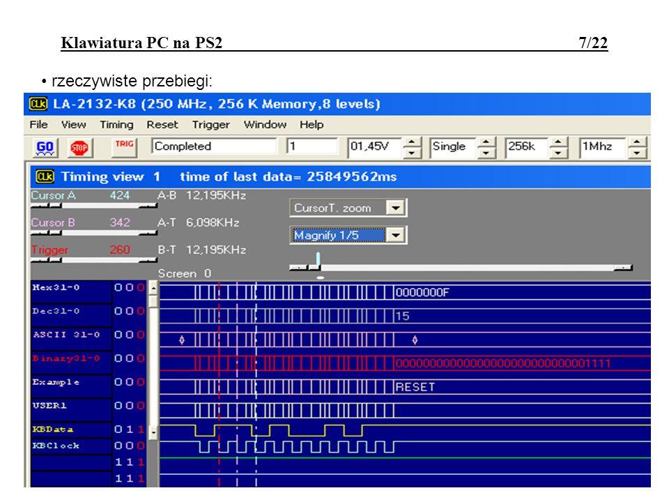 Klawiatura PC na PS2 7/22