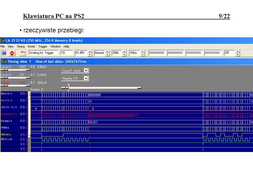 Klawiatura PC na PS2 9/22