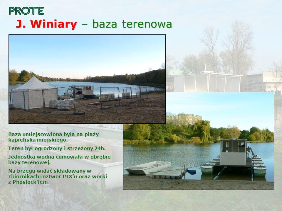 J. Winiary – baza terenowa