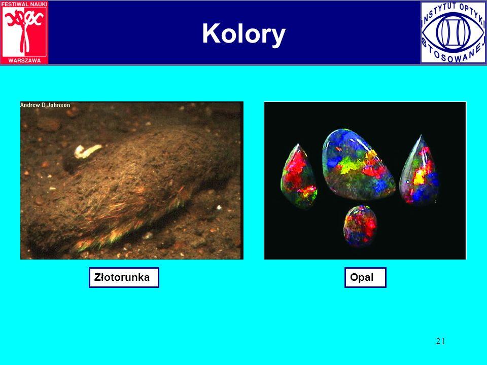 Kolory Kolory Złotorunka Opal