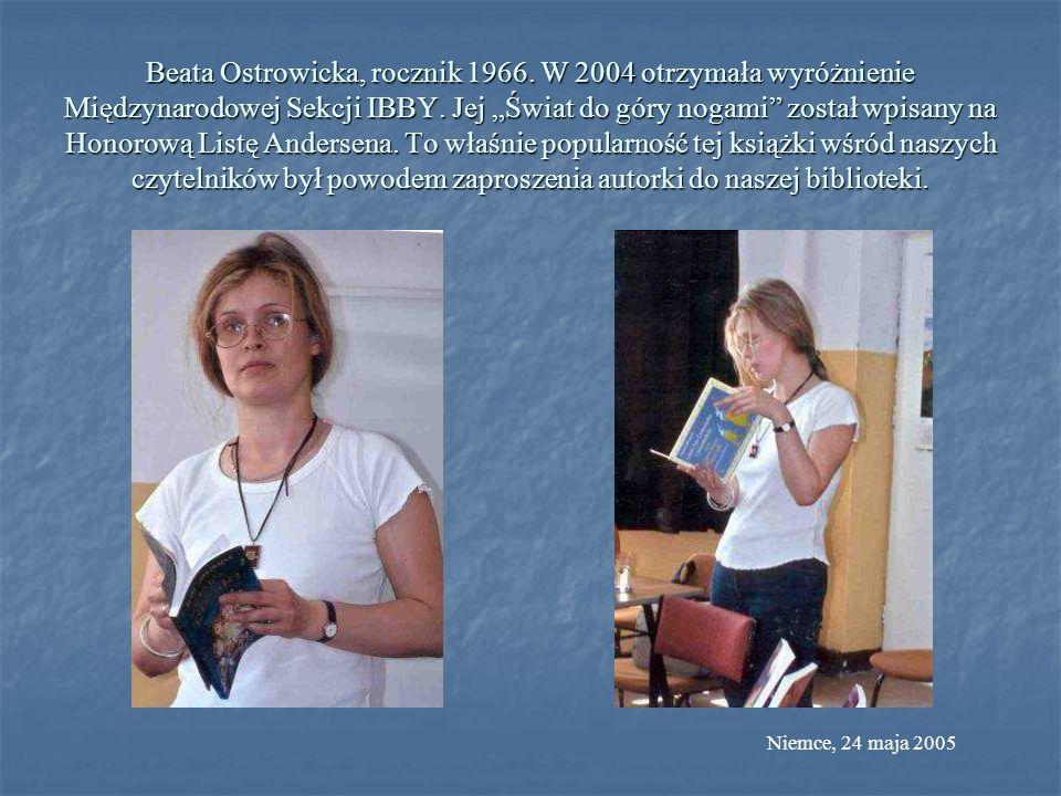 Beata Ostrowicka, rocznik 1966