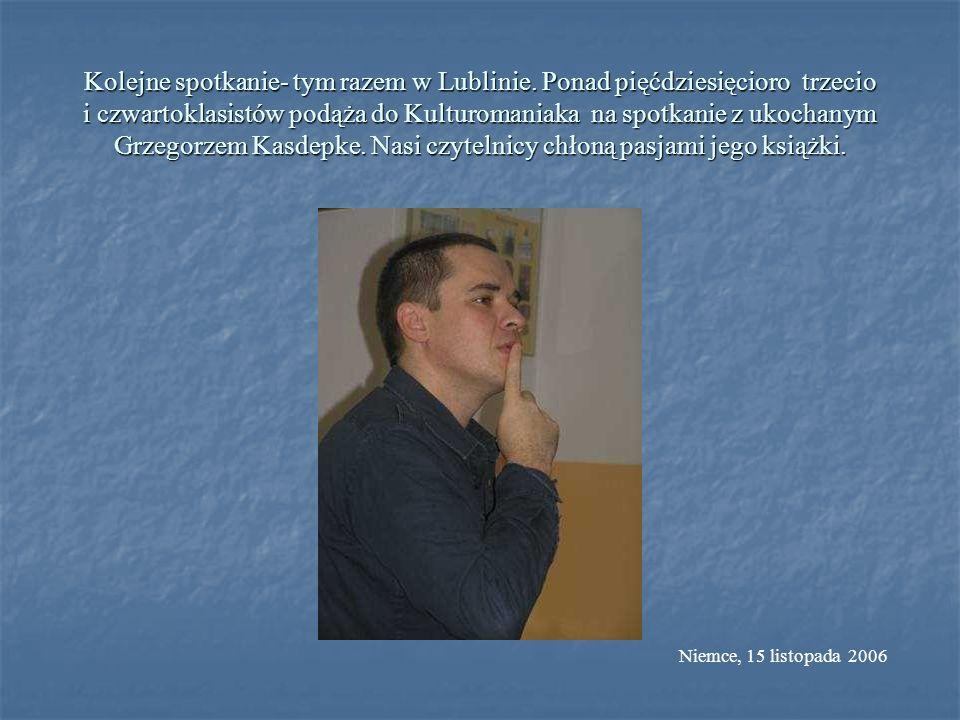 Kolejne spotkanie- tym razem w Lublinie