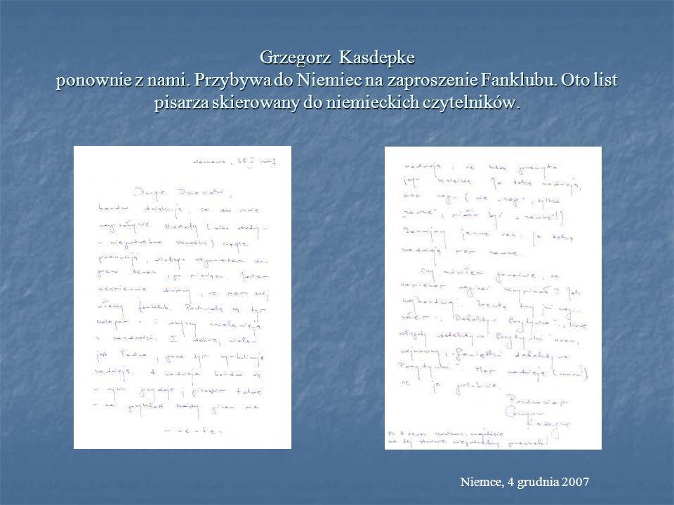 Grzegorz Kasdepke ponownie z nami