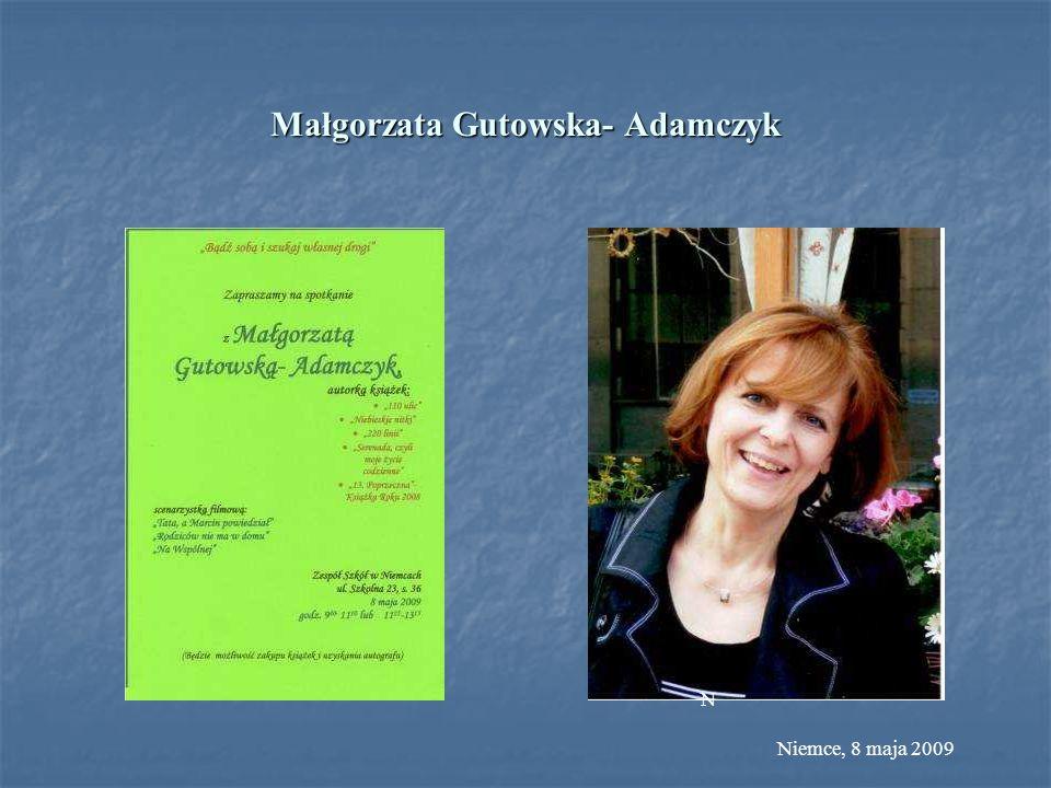 Małgorzata Gutowska- Adamczyk