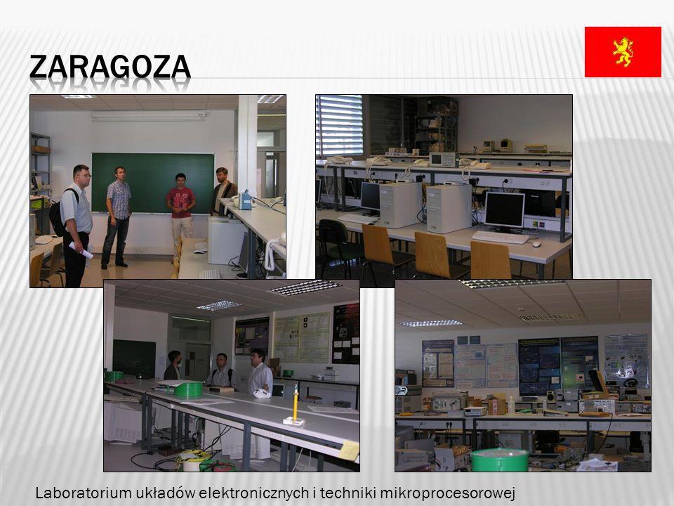 zaragoza Laboratorium układów elektronicznych i techniki mikroprocesorowej