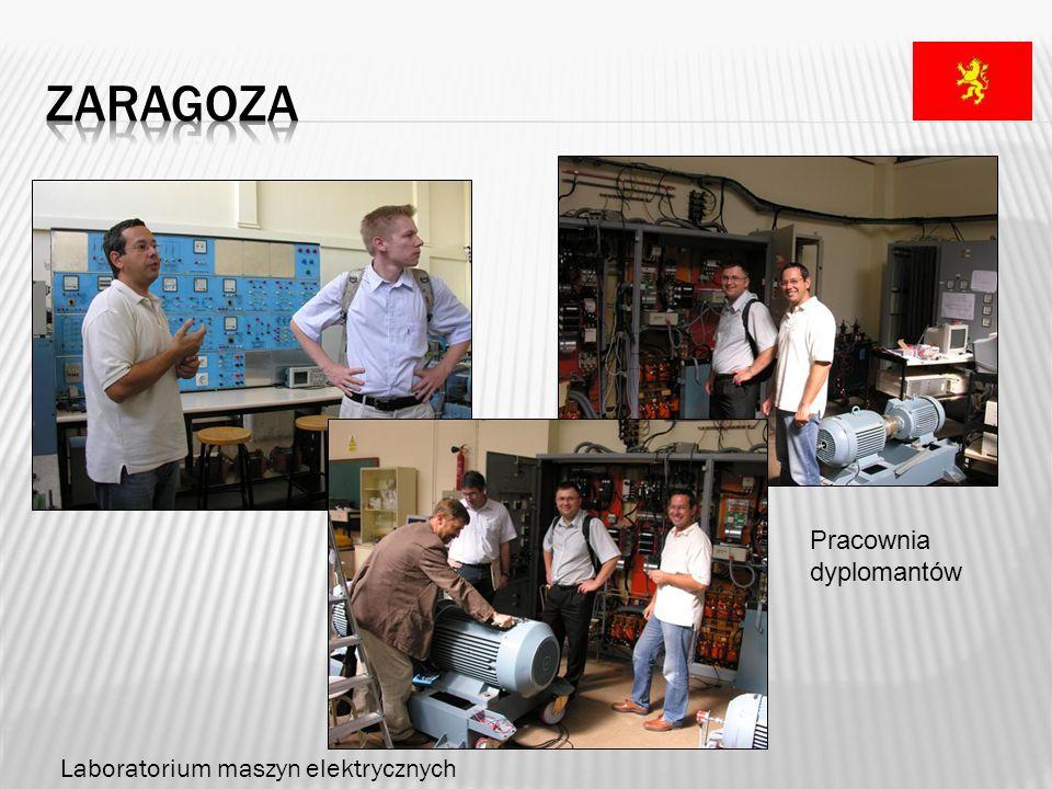zaragoza Pracownia dyplomantów Laboratorium maszyn elektrycznych