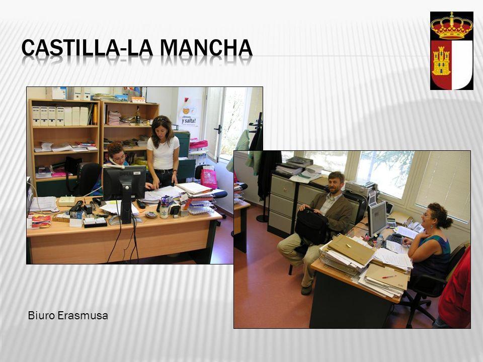 Castilla-la mancha Biuro Erasmusa