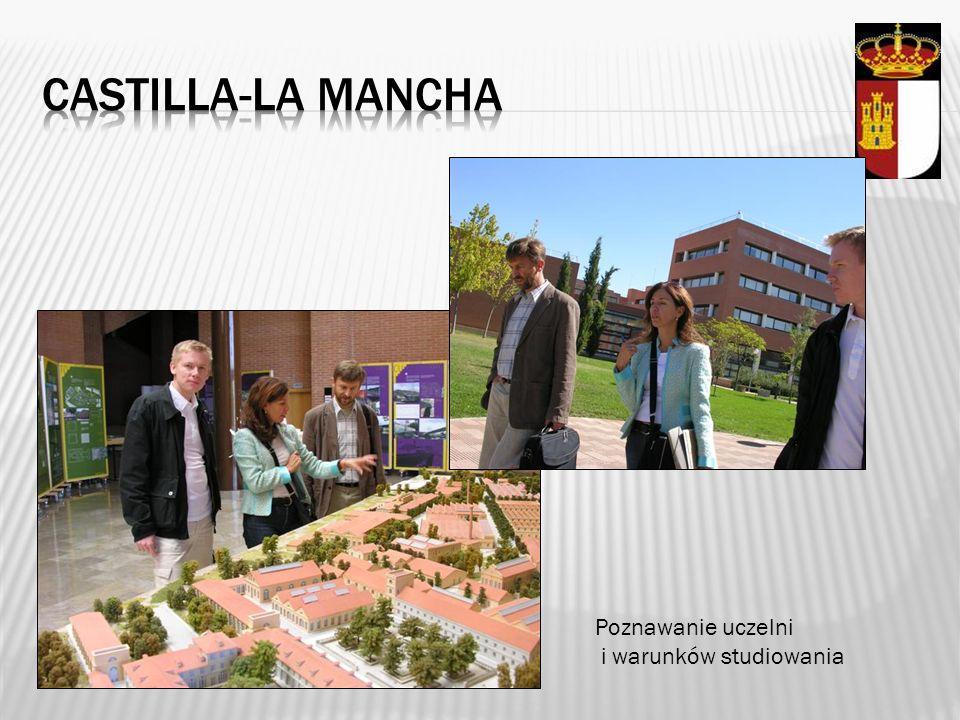 Castilla-la mancha Poznawanie uczelni i warunków studiowania