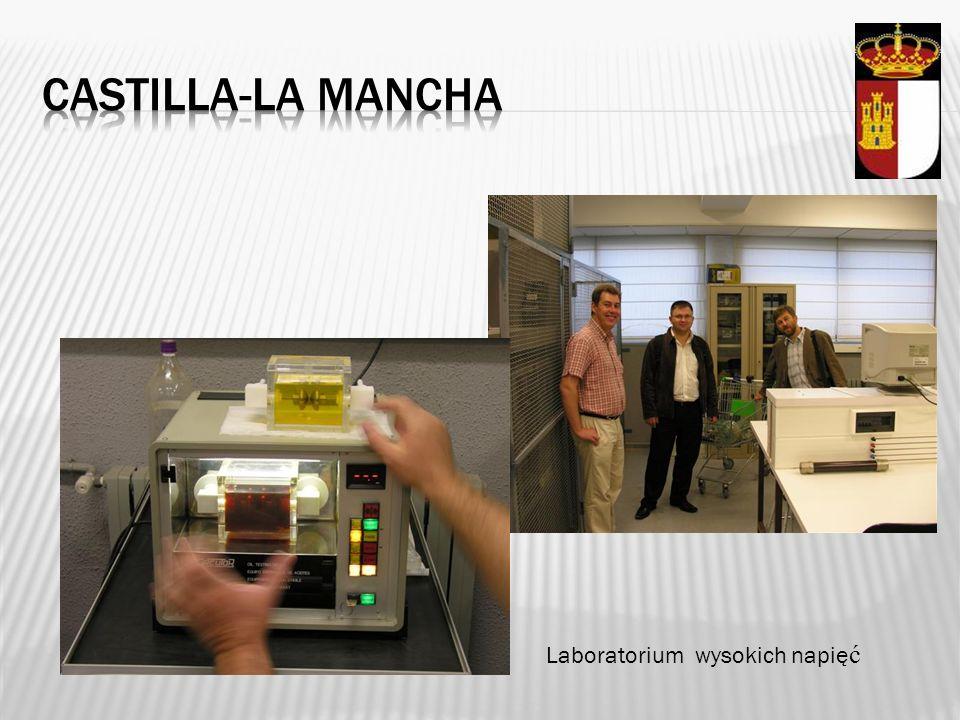 Castilla-la mancha Laboratorium wysokich napięć
