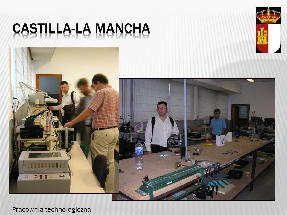 Castilla-la mancha Pracownia technologiczna