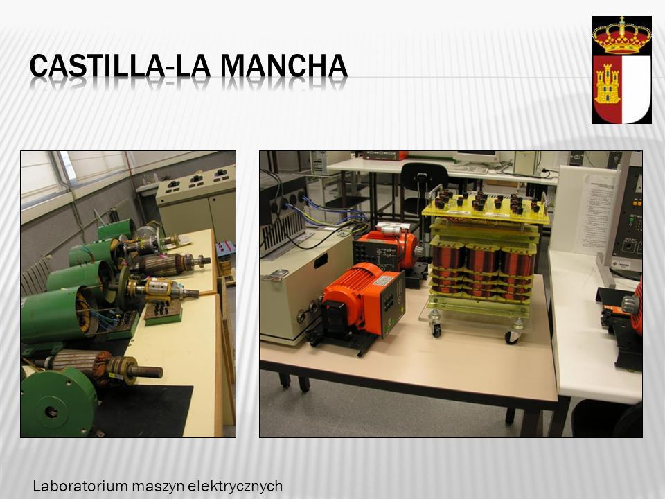 Castilla-la mancha Laboratorium maszyn elektrycznych