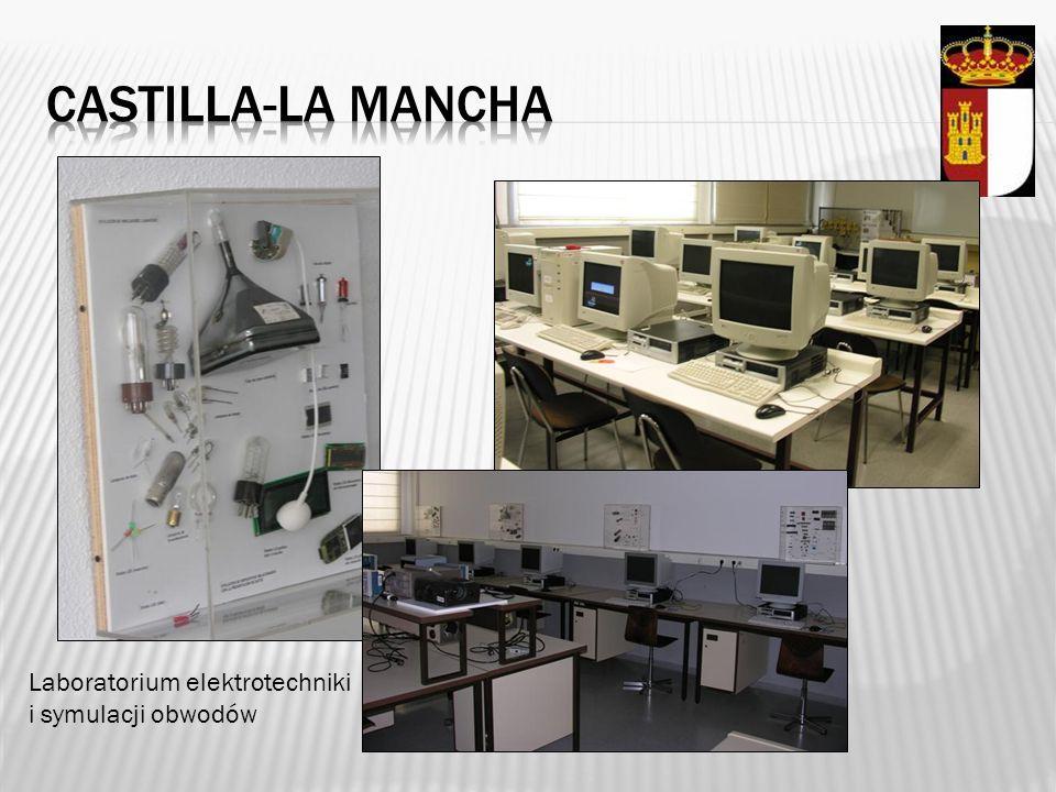 Castilla-la mancha Laboratorium elektrotechniki i symulacji obwodów