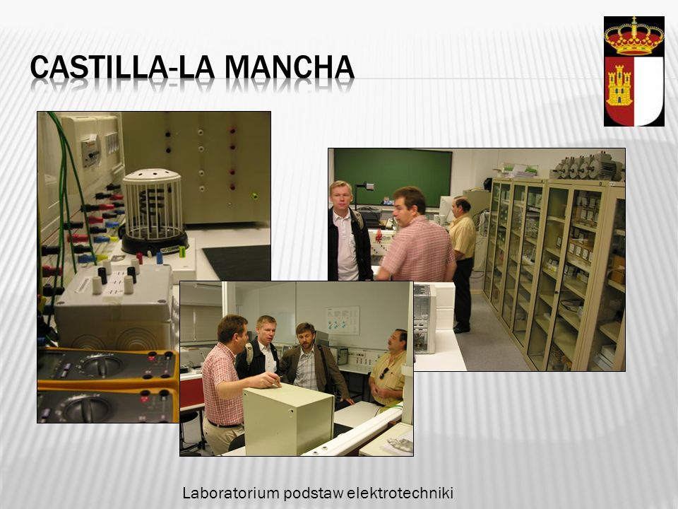 Castilla-la mancha Laboratorium podstaw elektrotechniki